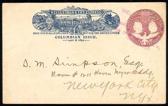 WC11334 NEW YORK, NY 21 4, Rv U349