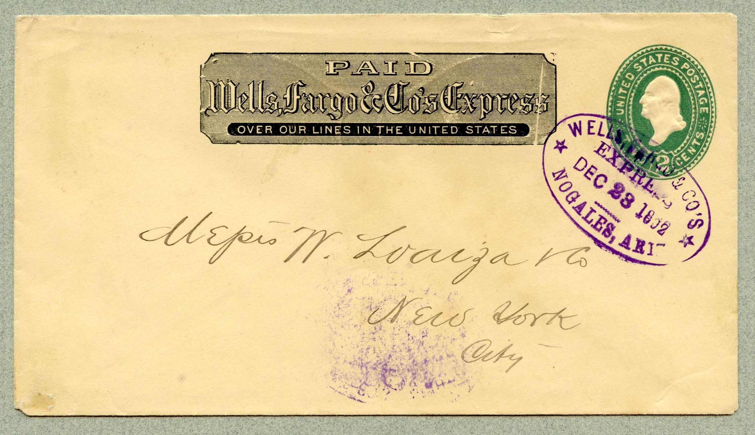 WC11340 NOGALES, AZ 16 1,pr U311