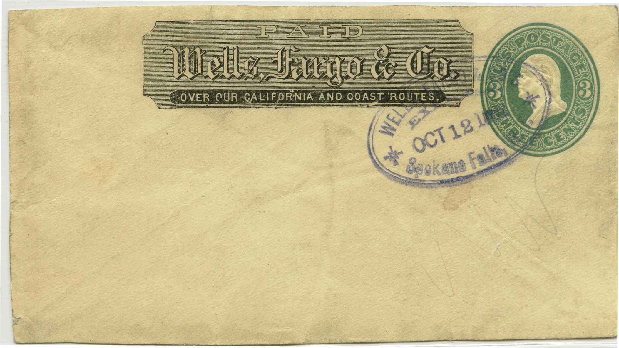 WC11803 SPOKANE FALLS, WA 16 27,bl U163