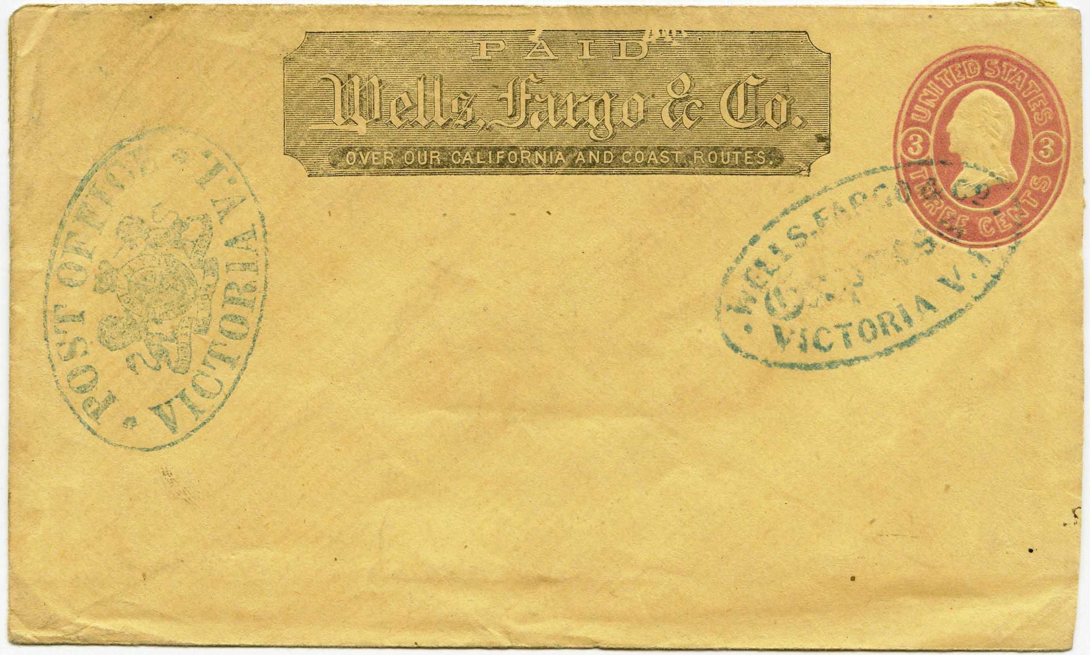 WC13875 VICTORIA, VI 4 3,bl U35
