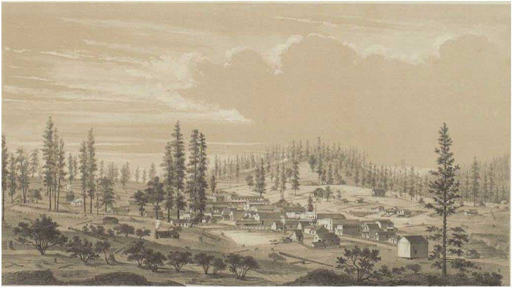 Yankee Jim's in 1857