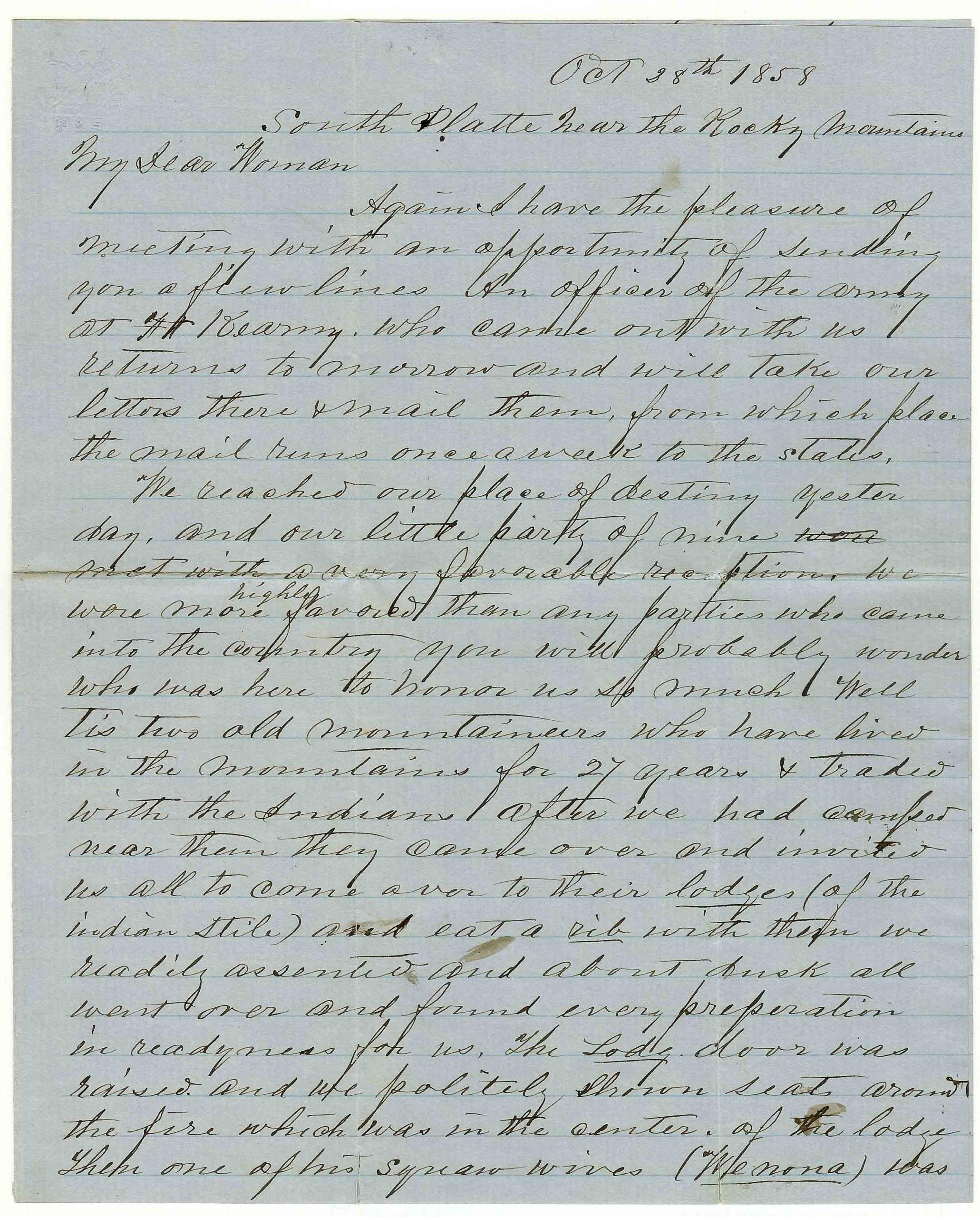 05a Stout Letter