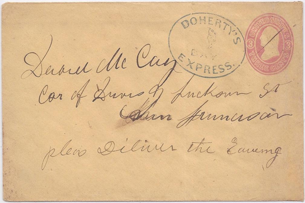 Doherty bay express to San Francisco