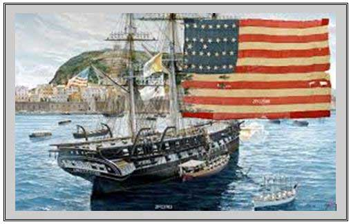 U. S. Warship Mexican War ~ ~ San Francisco Harbor