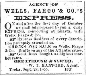 Agency of Wells Fargo & Co. Express