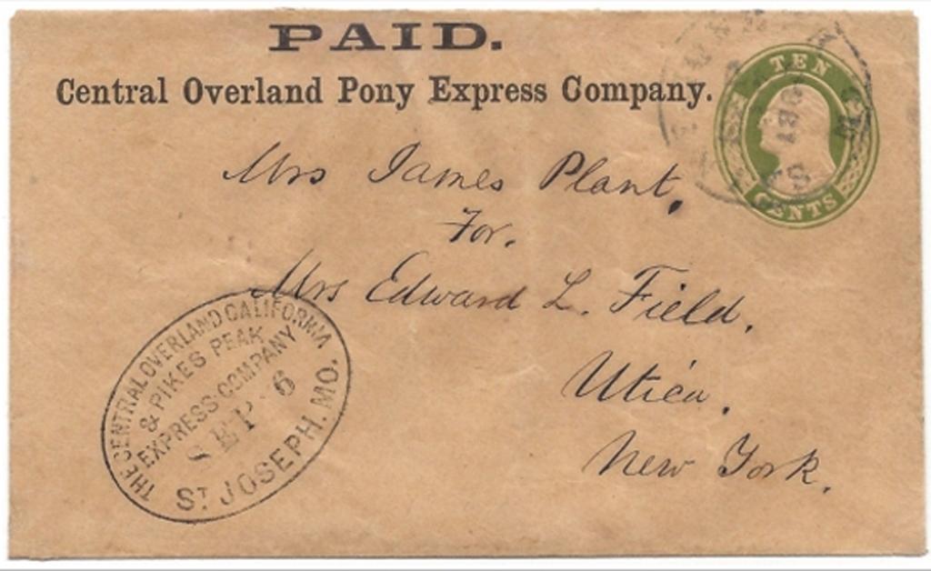 Central Overland Pony Express Company