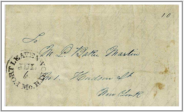Figure 32 July 6, 1847 Fort Leavenworth, Missouri
