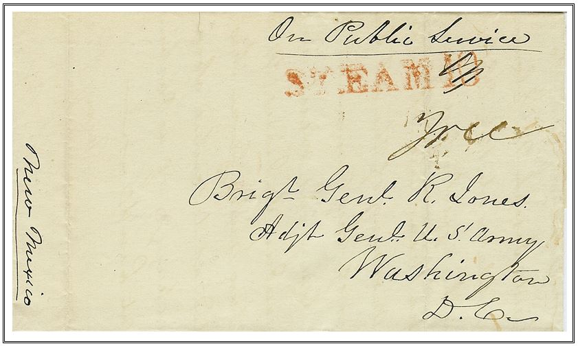 Figure No. 33 Saint Louis ~ Red STEAM - 10 Crossed out Free On Public Service