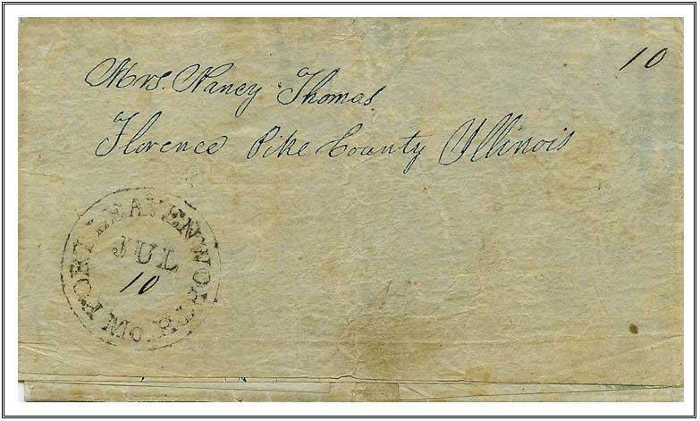 Figure No. 34 July 10, 1847 Fort Leavenworth, Missouri