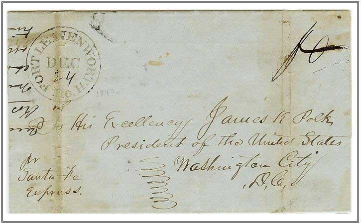 Figure 40 December 24, 1847 Fort Leavenworth, Missouri
