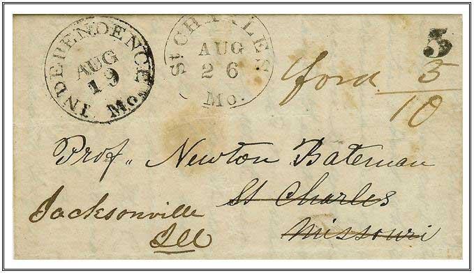 Figure No. 44 August 19, 1848 Independence, Missouri