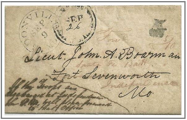 Figure No 46 September 9, 1848 Boonville, Missouri