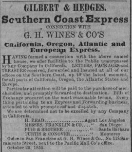 Gilbert Hedges Southern Coast Express