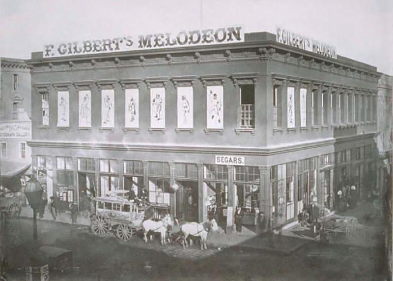 Gilbert's Melodeon Building