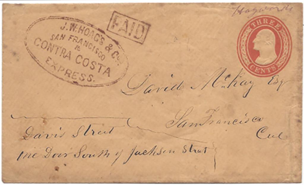 J. W. Hoag's & Co. San Francisco & Contra Costa Express