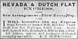 Nedava & Dutch Flat Express Transcript