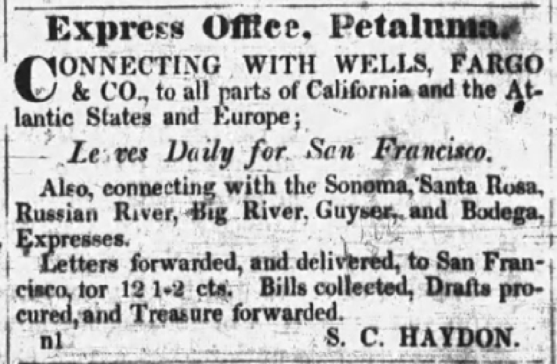 Petaluma Sonoma County Journal Ad
