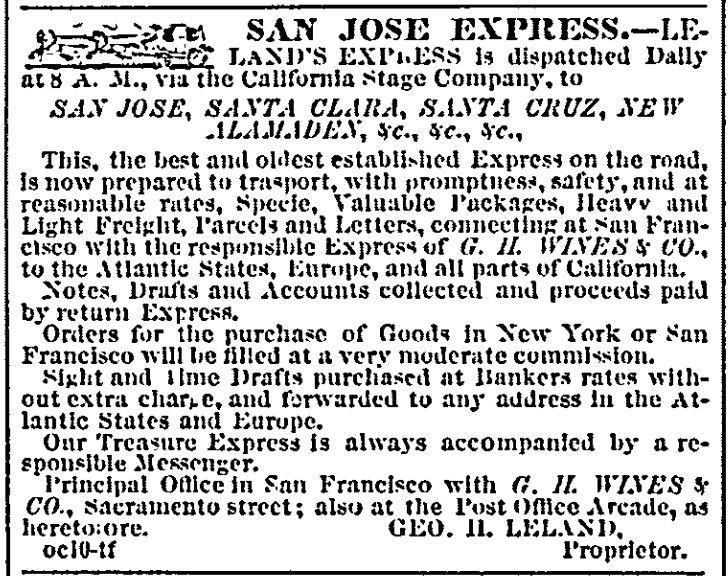 San Jose Express Bulletin