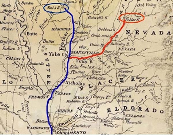 Tassen's 1851 Map