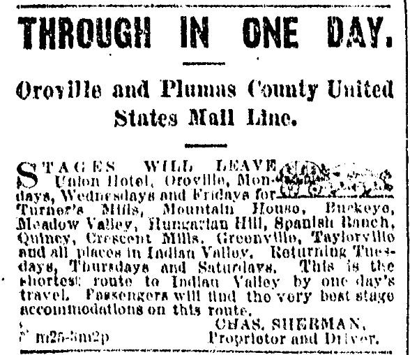 San Francisco Chronicle first ad