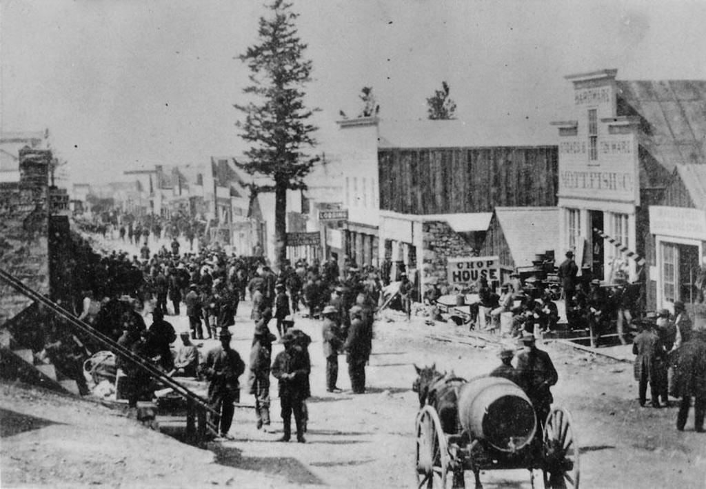 Treasure City Nevada in 1869
