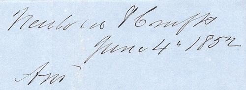 Dateline June 4 1852