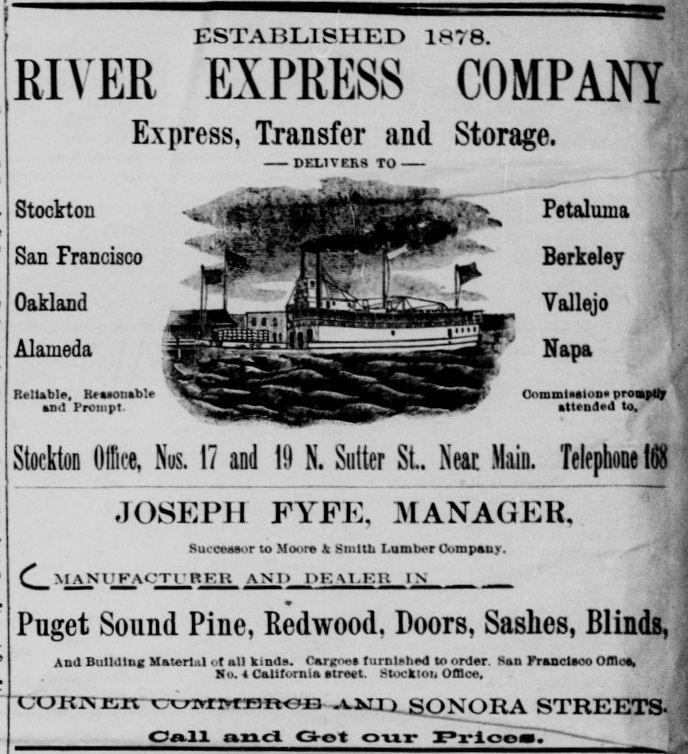 River Express Company - Stockton Record