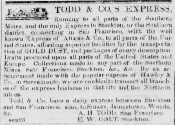 Todd & Co.'s Express Ad
